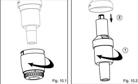 SOCOREX移液器Acura manual 825,835,826的例行维护方法